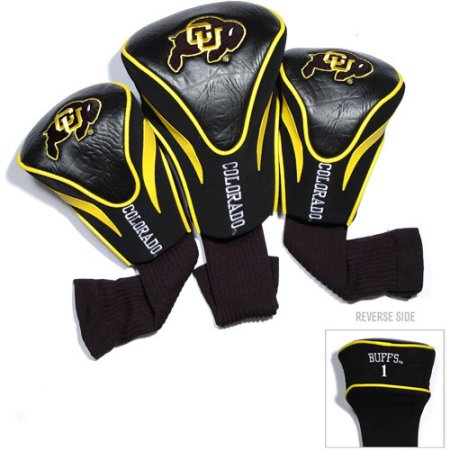 NCAA Colorado Buffaloes 3 Pack Contour Head Covers