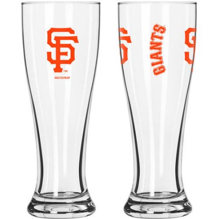 MLB San Francisco Giants 2-Pack Gameday Pilsner Set