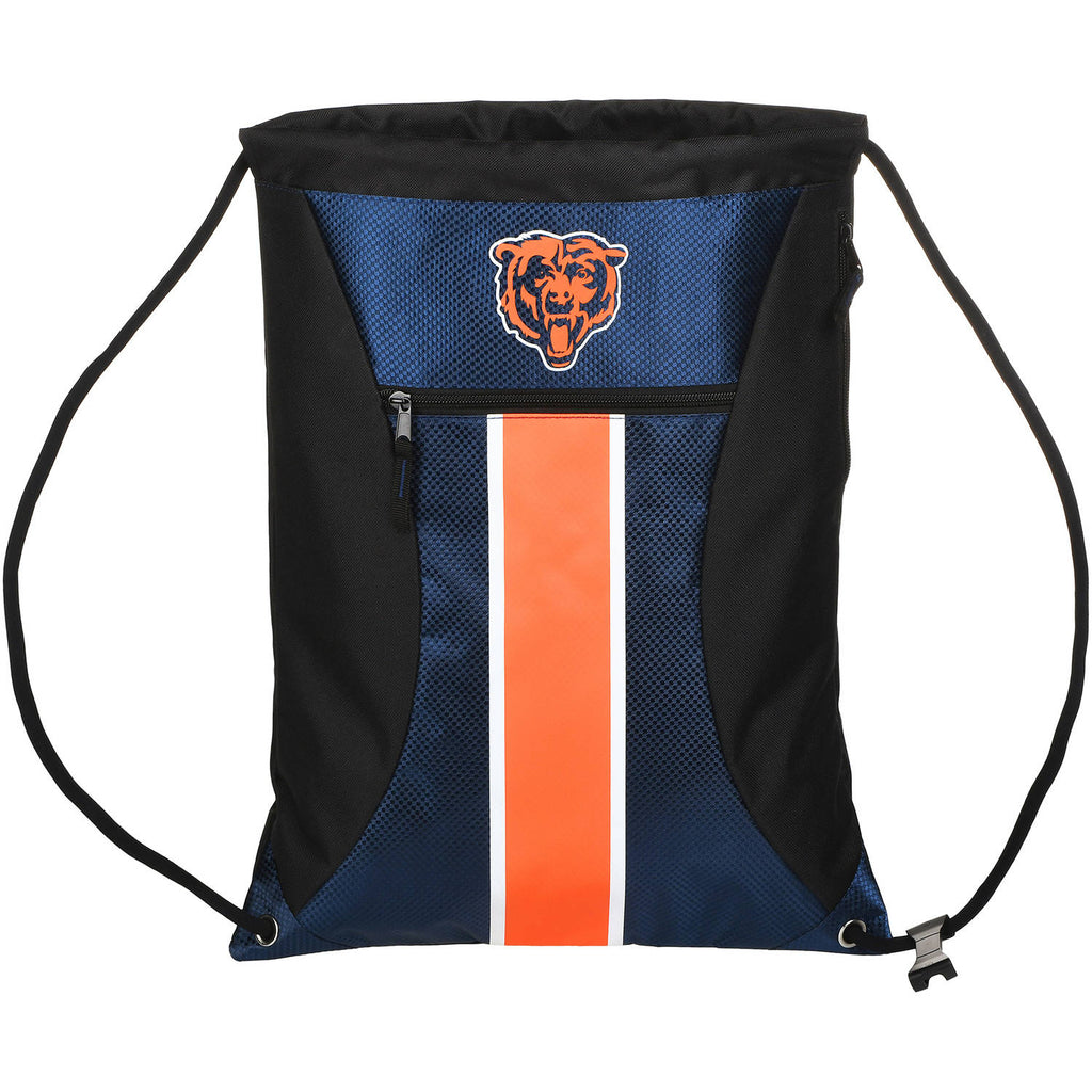 NFL Chicago Bears Big Stripe Drawstring Backpack
