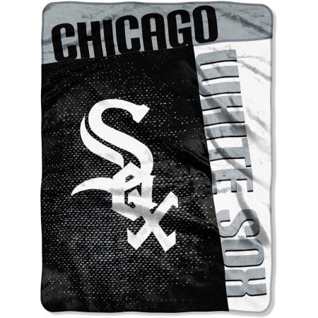 "MLB Chicago White Sox ""Strike"" 60"" x 80"" Raschel Throw"