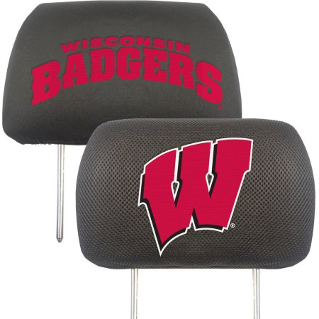 NCAA Wisconsin Badgers Headrest Covers