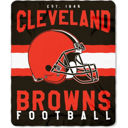 "NFL Cleveland Browns ""Singular"" 50"" x 60"" Fleece Throw"