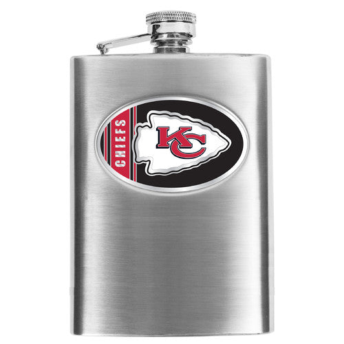 NFL Men's Kansas City Chiefs Hip Flask