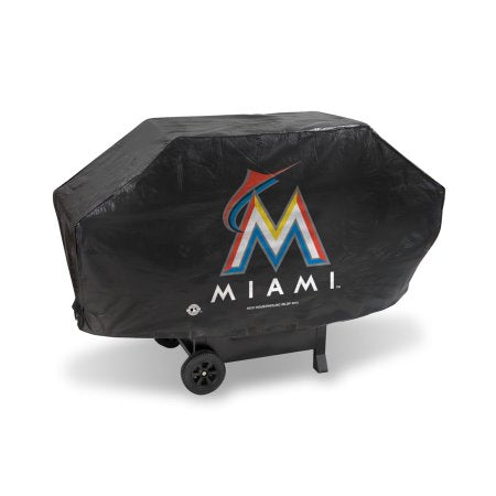 MLB Miami Marlins Deluxe Grill Cover