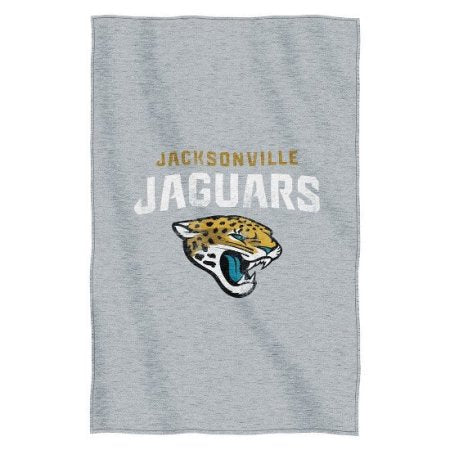 Jacksonville Jaguars NFL Logo Sweatshirt Material Poly/Cotton Throw
