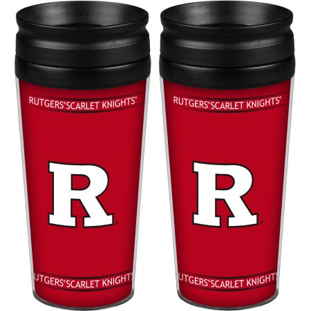 NCAA Rutgers Scarlet Knights 2-Pack Full Wrap Tumbler