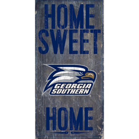 NCAA Georgia Southern Eagles 6'' x 12'' Home Sweet Home Sign