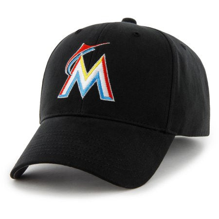 buy popular 7e454 1a538 Miami Marlins New Era Rebound Cuffed Knit Hat with Pom - Gray Black.    23.54 · MLB Miami Marlins Adjustable Cap   Hat by Fan Favorite