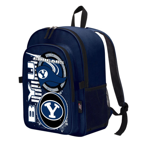 "BYU Cougars ""Accelerator"" Backpack and Lunch Bag / Box Set"