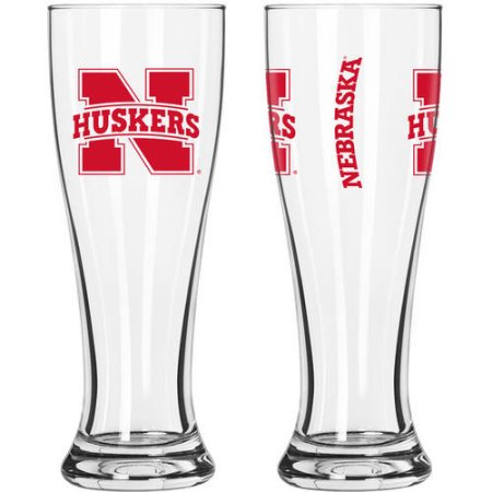 NCAA University of Nebraska Cornhuskers 2-Pack Gameday Pilsner Set