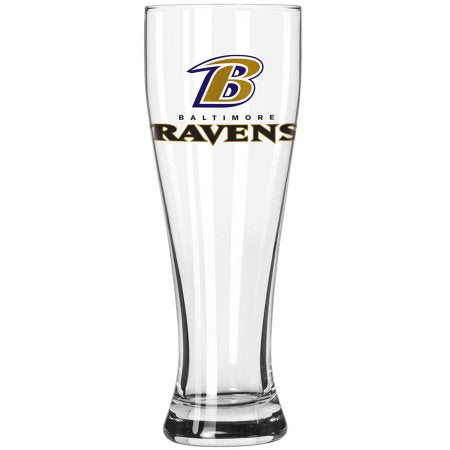 Boelter Brands NFL Baltimore Ravens 23-Ounce Grand Pilsner with Full Color Team Logo
