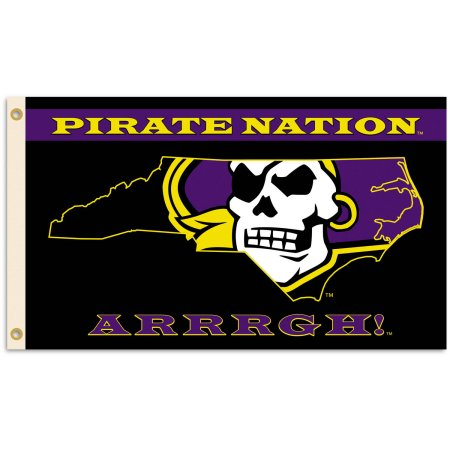 NCAA East Carolina Pirates 3'x5' Flag