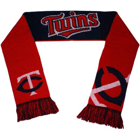 MLB Minnesota Twins Reversible Split Logo Scarf