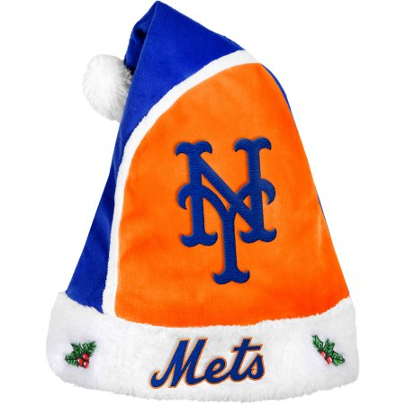 Forever Collectibles MLB Santa Hat - New York Mets