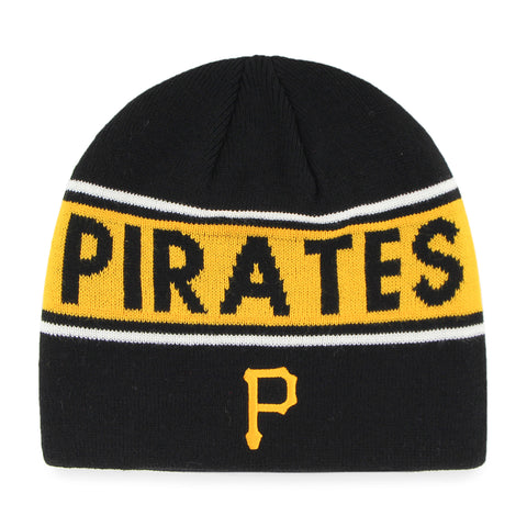 MLB Pittsburgh Pirates Bonneville Knit Beanie Stocking Hat