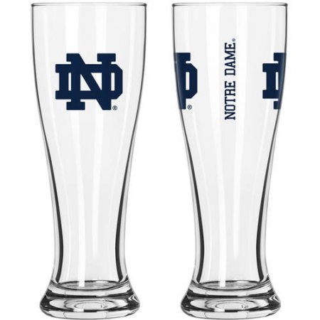 NCAA University of Notre Dame Fighting Irish 2-Pack Gameday Pilsner Set