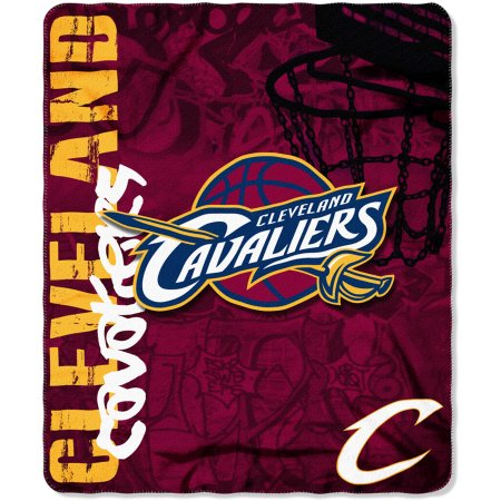 "NBA Cleveland Cavaliers 50"" x 60"" Fleece Throw"