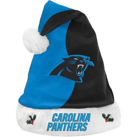 Forever Collectibles NFL Santa Hat - Carolina Panthers