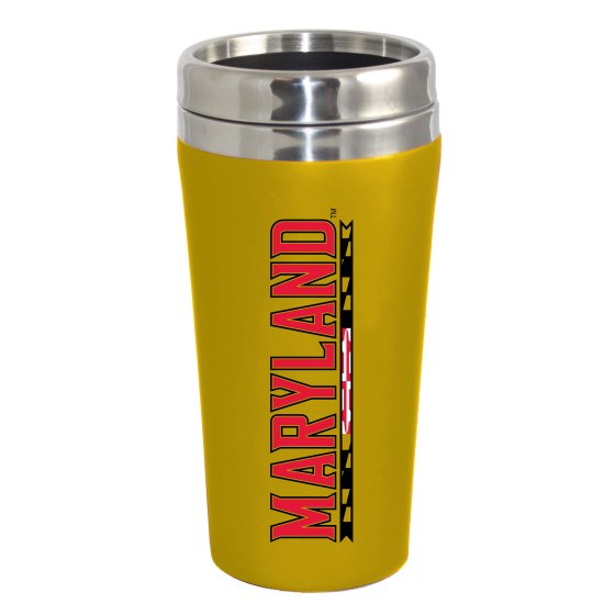 NCAA University of Maryland Terrapins Double Walled Travel Tumbler