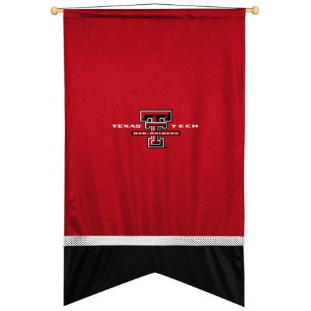 NCAA Texas Tech University Red Raiders Sidelines Wall Flag