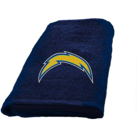 "NFL Los Angeles Chargers Decorative Bath Collection - Fingertip Towel 11"" x 18"""