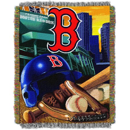 "MLB 48"" x 60"" Home Field Advantage Series Tapestry Throw, Red Sox"