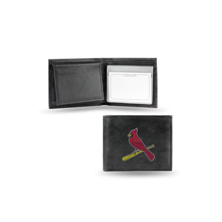 MLB Men's St. Louis Cardinals Embroidered Billfold Wallet