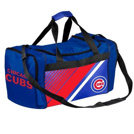 MLB Chicago Cubs Border Stripe Duffle Bag
