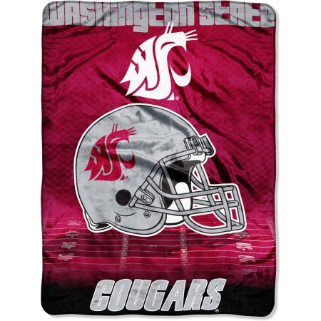 "NCAA Washington State Cougars 60"" x 80"" Oversized Micro Raschel Throw Blanket"