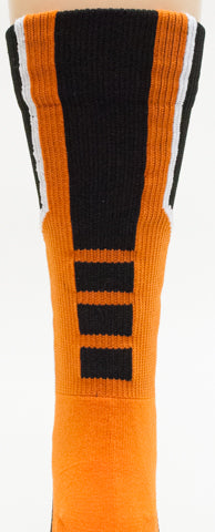 NCAA Oregon State Beavers Black Athletic Socks
