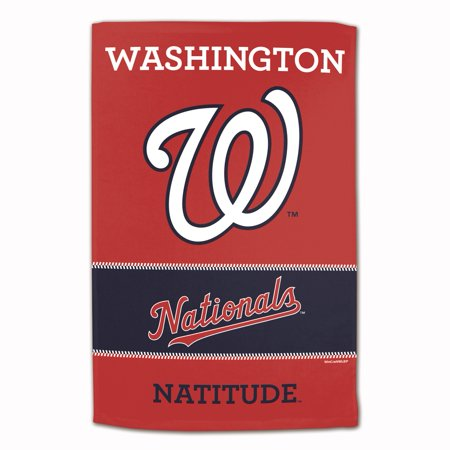 "MLB Washington Nationals Sublimated Cotton Towel - 16"" x 25"""