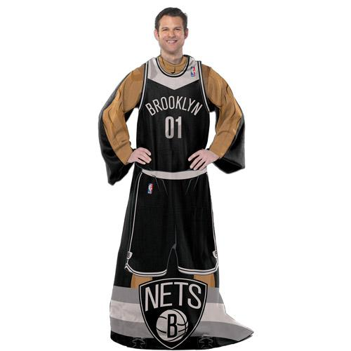 "NBA Player 48"" x 71"" Comfy Throw, Nets"