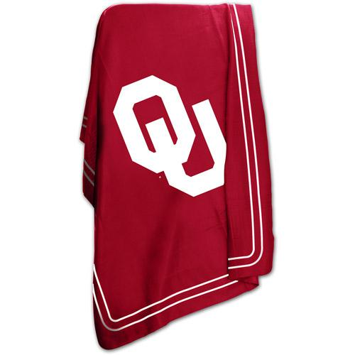 "Logo Chair NCAA Oklahoma 50"" x 60"" Classic Fleece Throw"