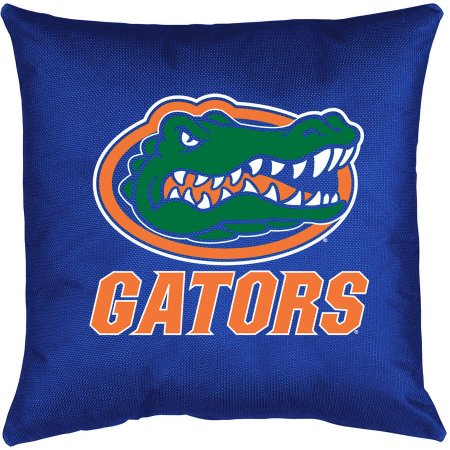 NCAA University of Florida Locker Room Toss Pillow