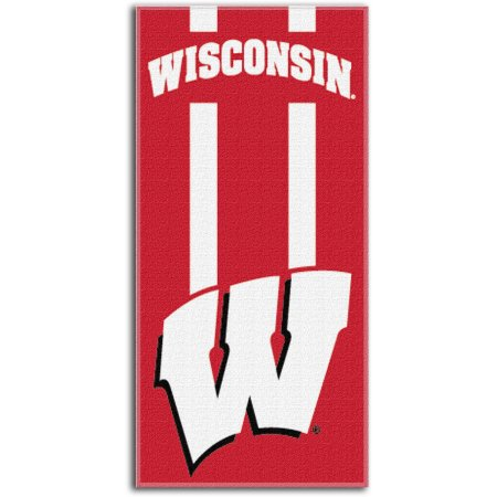 "NCAA Wisconsin Badgers ""Zone Read"" 30"" x 60"" Beach Towel"