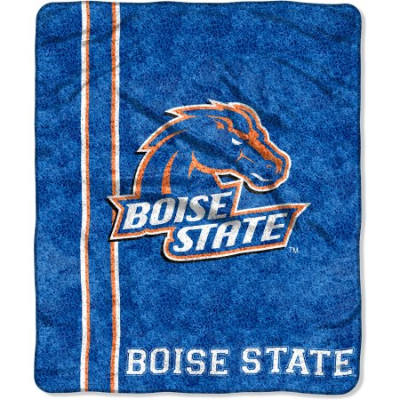 "NCAA Boise State Broncos ""Jersey"" 50"" x 60"" Sherpa Throw"