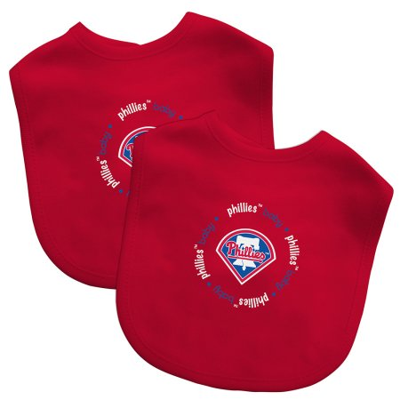 MLB Philadelphia Phillies 2-Pack Bibs