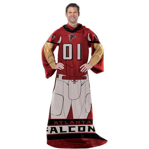 "NFL Player 48"" x 71"" Comfy Throw, Falcons"
