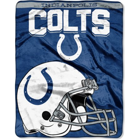 "NFL Indianapolis Colts ""Drawback"" 55"" x 70"" Silk Touch Throw"