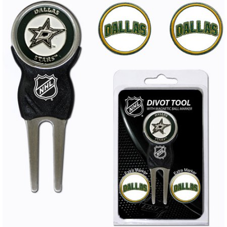 Team Golf NHL Dallas Stars Divot Tool Pack With 3 Golf Ball Markers
