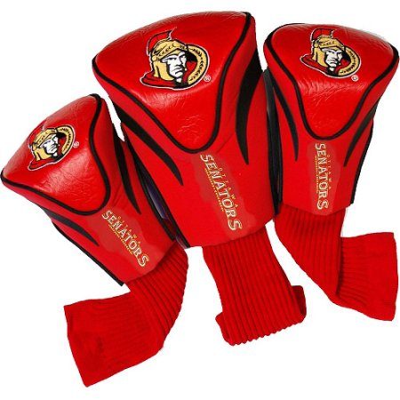 NHL Ottawa Senators 3 Pack Contour Head Covers