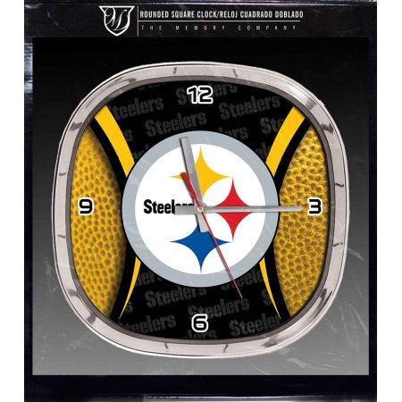 NFL Pittsburgh Steelers 12 Inch Chrome Clock