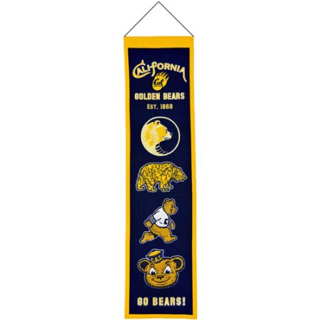 NCAA Wool Heritage Banner - California of Berkeley Golden Bears