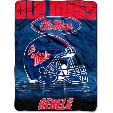 "Ole Miss Rebels 60"" x 80"" Oversized Micro Raschel Throw Blanket"