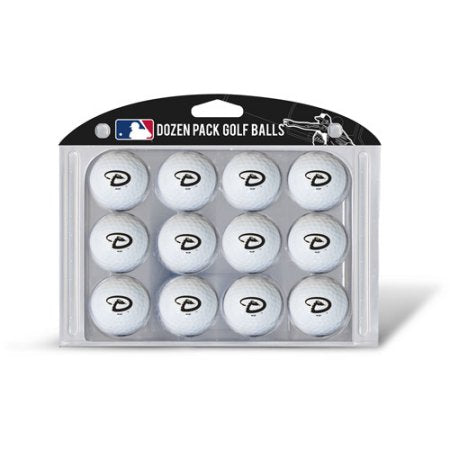 MLB Arizona Diamondbacks Golf Balls, 12 Pack