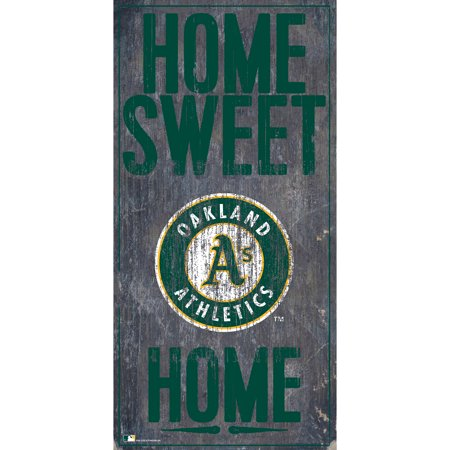 MLB Oakland Athletics 6'' x 12'' Home Sweet Home Sign