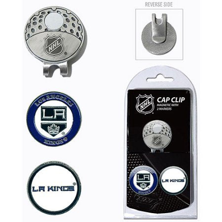 Team Golf NHL Los Angeles Kings Cap Clip With 2 Golf Ball Markers