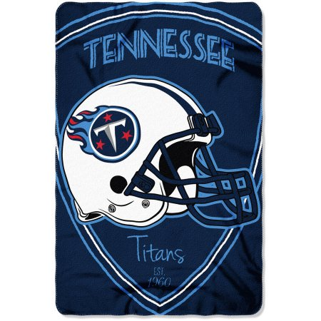 "NFL Tennessee Titans 40"" x 60"" Fleece Throw"