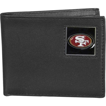NFL Bi-fold Leather Wallet - San Francisco 49ers