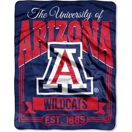 "NCAA Arizona Wildcats ""Traction"" 55"" x 70"" Silk Touch Throw"